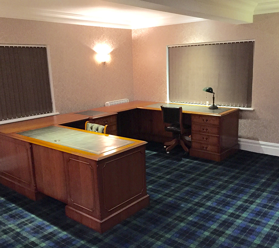 Bespoke Desk in situ