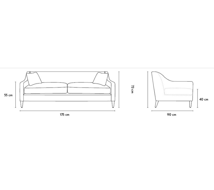 Bespoke Upholstery Sofa view 1