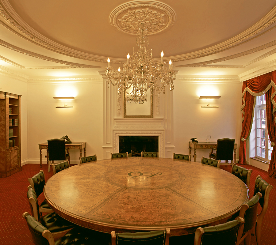 Bespoke conference table