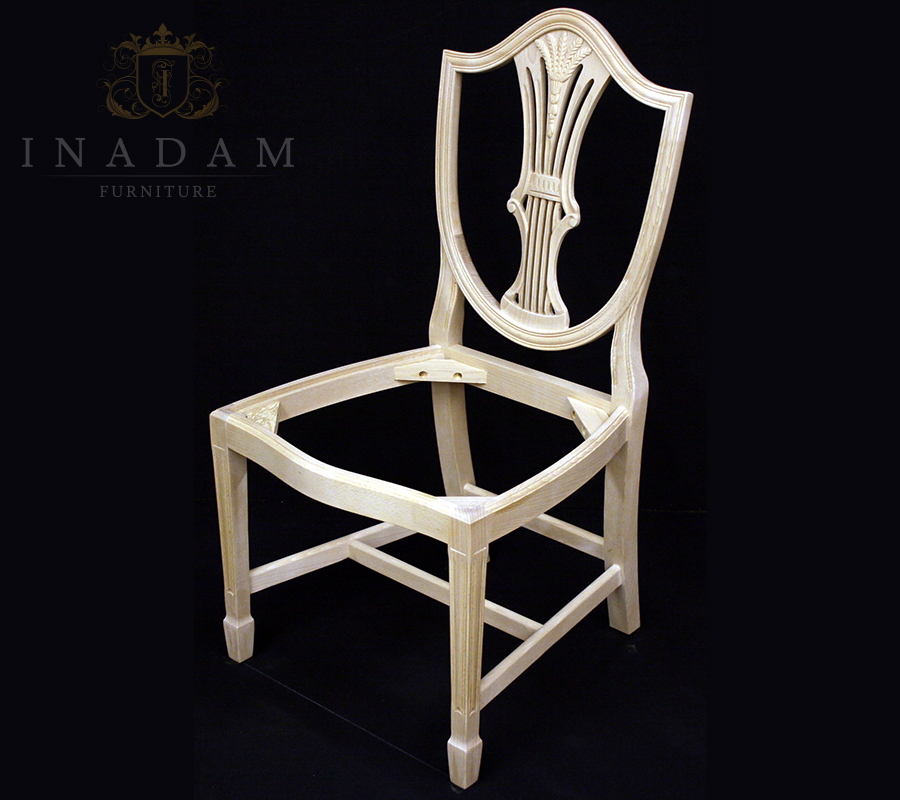Ribbon Back Single Dining Chair Frame