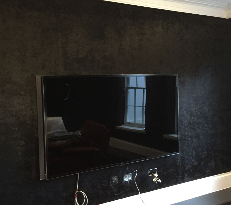 Contemporary Modern Fabric Walling