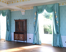 Fabric Lined/Panelled Walls