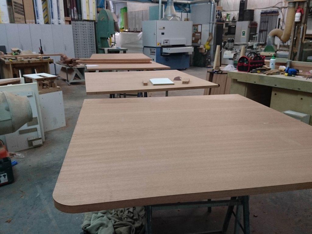 Bespoke table top