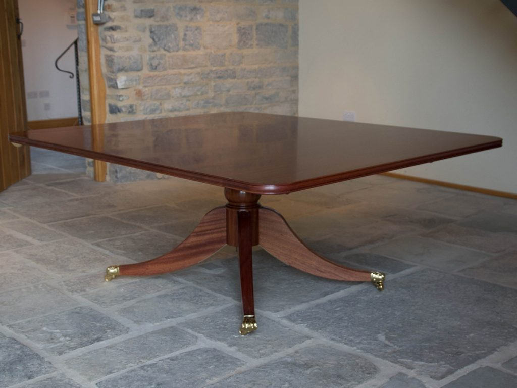 Bespoke table set up as one individual table