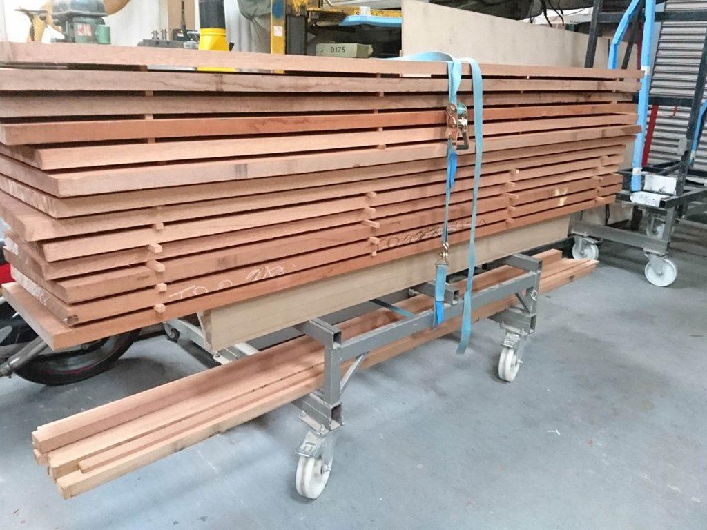 Timber for Bespoke Mahogany Dining Table
