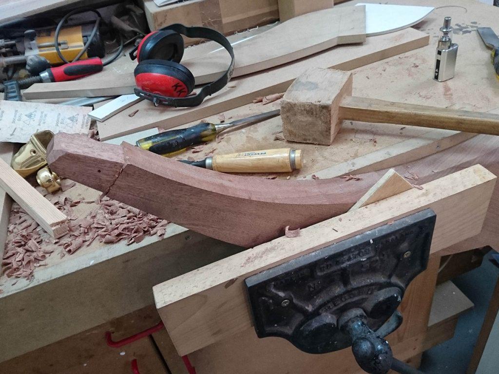 Making Legs for Pedestals