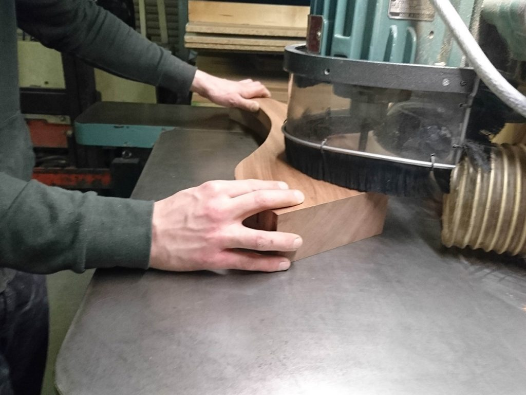 Making Legs for Pedestals by hand