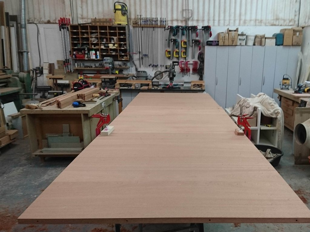 Preperation of table top